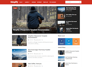 Download Template Blogger Simplify 2 Premium Gratis