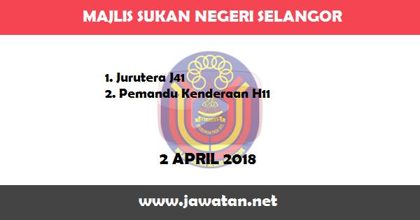 Jawatan Kosong di Majlis Sukan Negeri Selangor