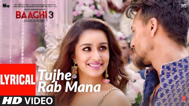 Tujhe Rab Mana lyrics -Rochak Kohli |. Shaan