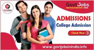 College Admission Information