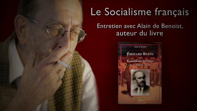 Blog Krisis Alain de Benoist socialisme français