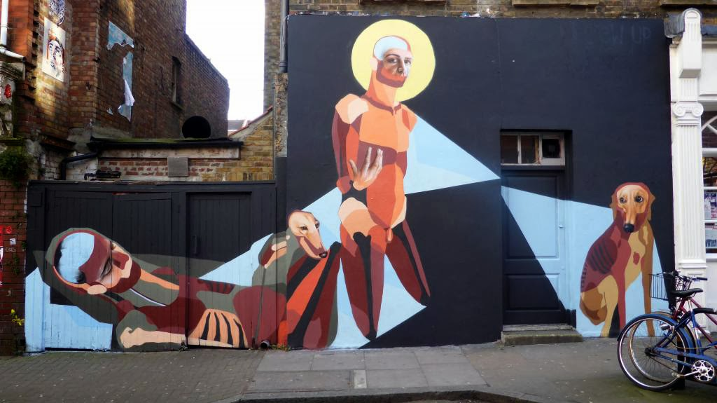 Last seen in Miami for Art Basel, BEST | EVER spent the last few days working on this beautiful mural on the streets of London, UK.