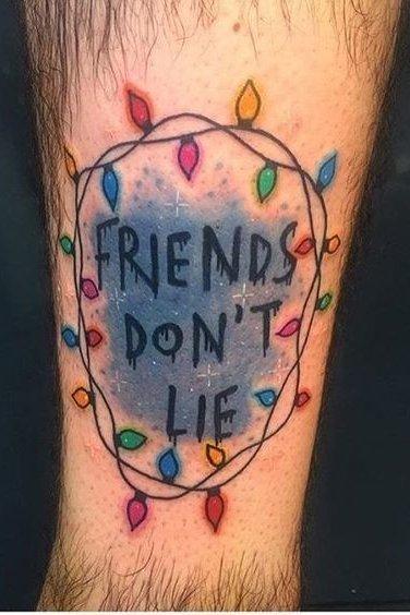 Stranger Things Tattoos
