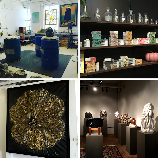 16th St. Studios in Racine is home to a range of artists!