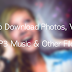 Try 5 Best Download Manager Including MP3 Music Downloader