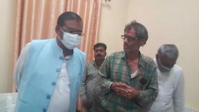 Mandla news : मंडला सांसद का मंडला दौरा