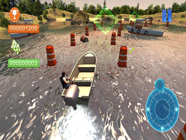لعبة Speed Boat Parking 3D