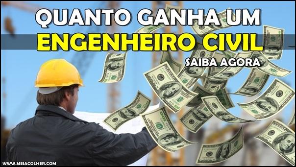 salario do engenheiro civil