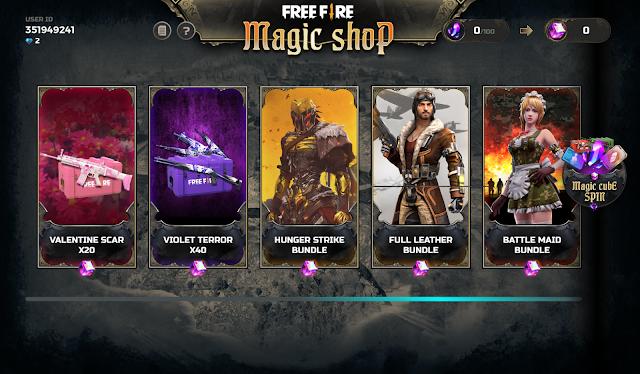 Daftar Hadiah Bundle Terbaru Event Magic Shop FF Desember 2019