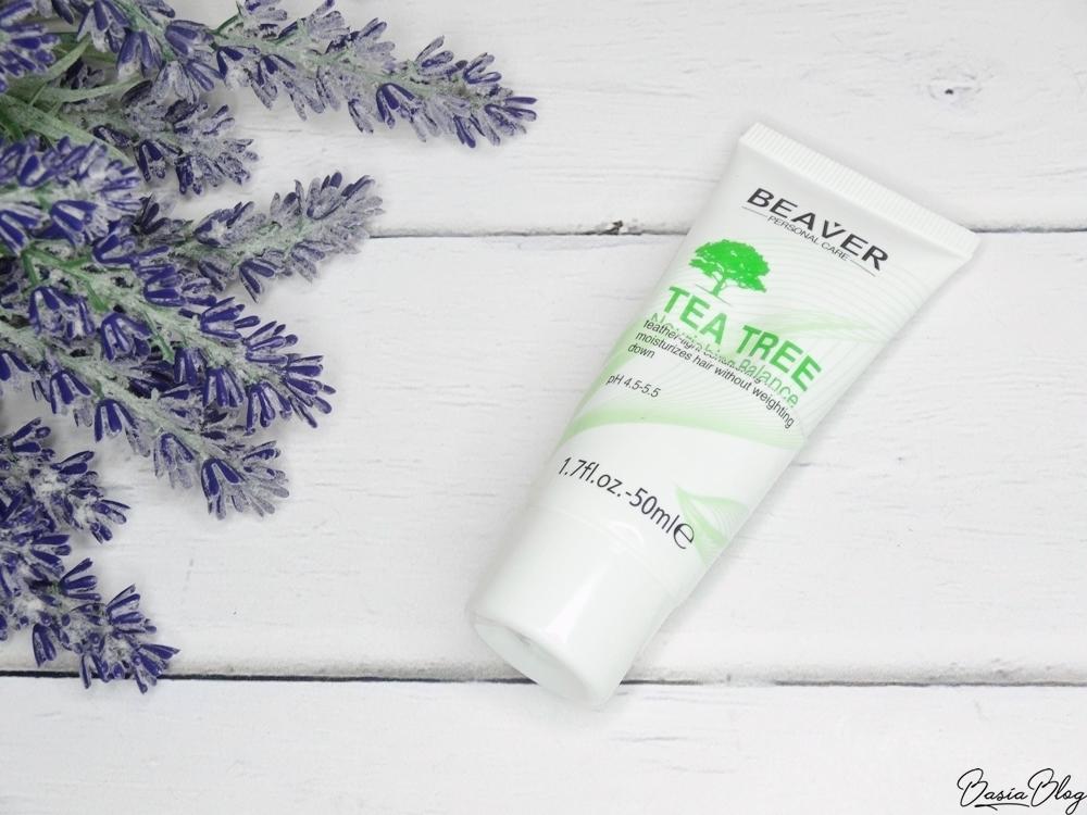 Beaver Tea Tree odżywka do włosów recenzja