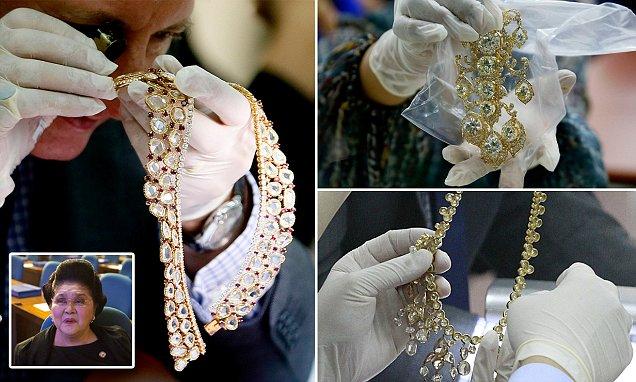 marcos wealth,  Marcos ill-gotten wealth, marcos jewelry