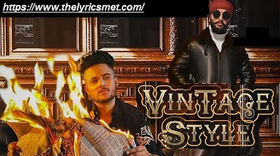 Vintage Style Song Lyrics | Jita | RB Khera | Latest Punjabi Songs 2020