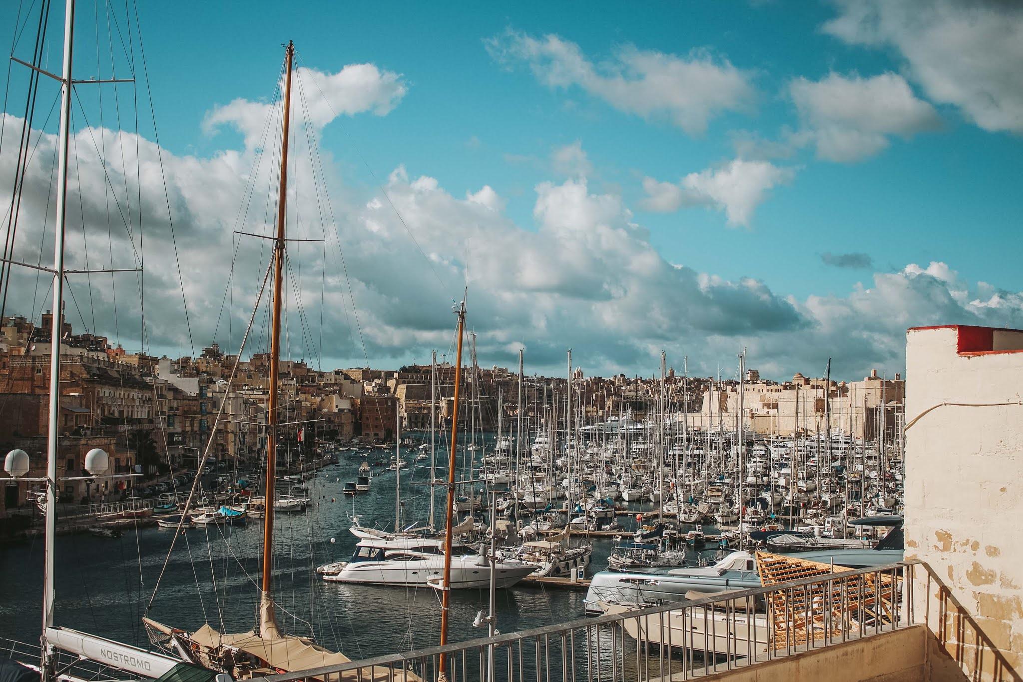 Hafen Three Cities