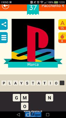 Iconica Italia Pop Logo Quiz soluzione pacchetto 4 livelli 37-75