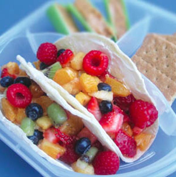 Fruit Salsa Roll-up