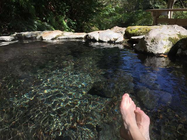 自然の中の混浴露天風呂、別府温泉の3つの野湯に行って来た【t】 へんびの湯