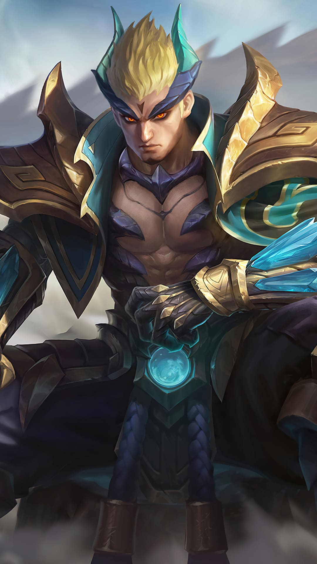 Wallpaper yu zhong emerald dragon skin mobile legends for mobile hobigame