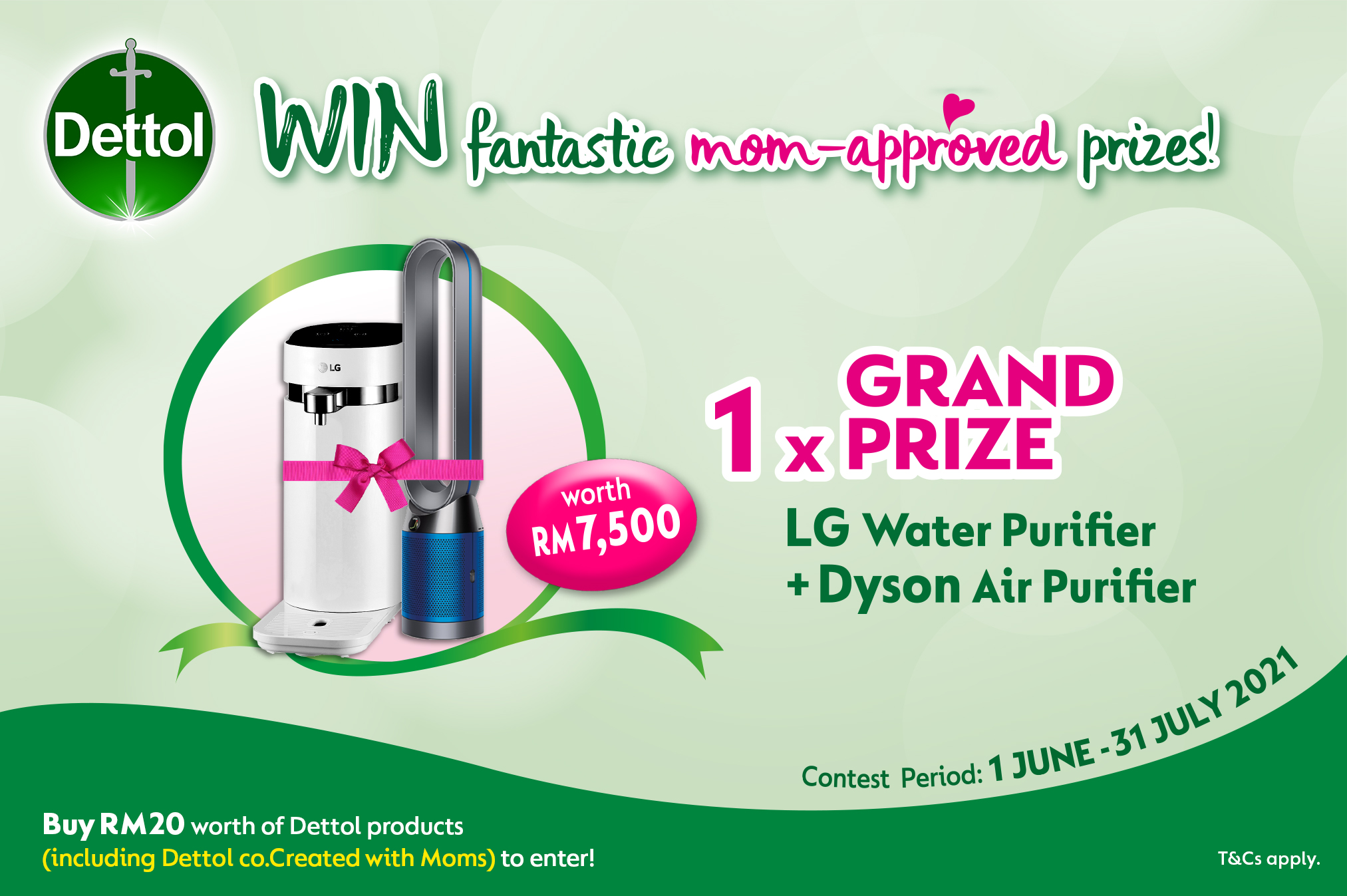 Dettol: Win Fantastic Mom-Approved Prizes