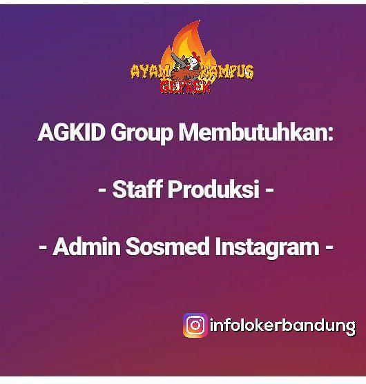 Lowongan Kerja Ayam Geprek Kampus Indonesia Group Januari 2019