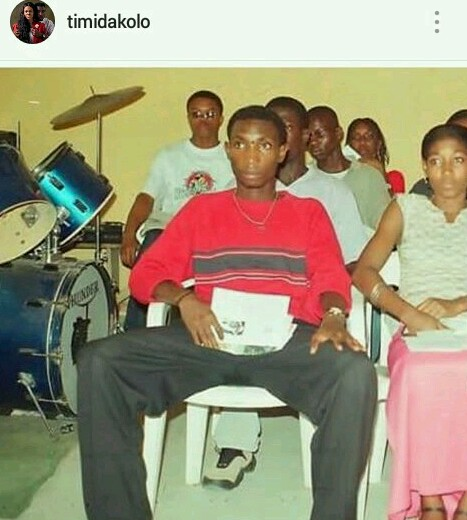 Tb pics of singer Timi Dakolo, I bet you didn't know.