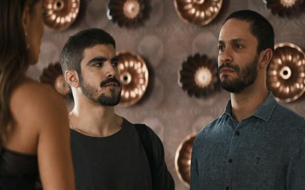 Téo passa mal antes de contar toda a verdade sobre Jô a Maria da Paz (Imagem: Reprodução/TV Globo)