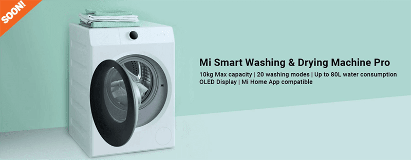 Mi Smart Washing and Drying Machine Pro