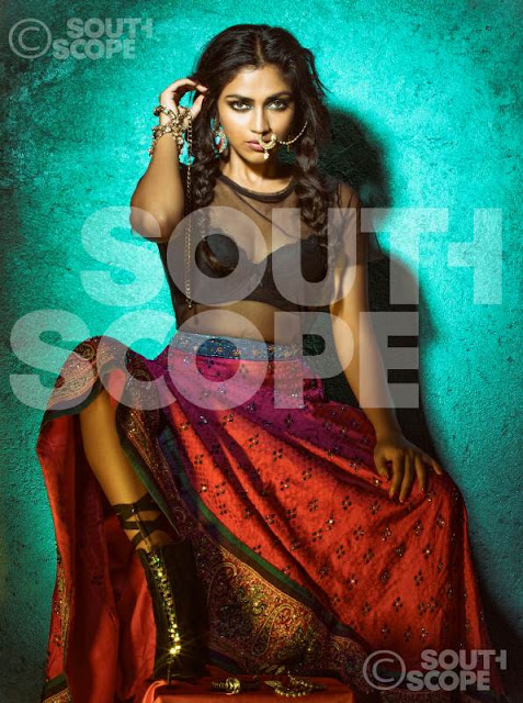 Actress Amala Paul South Scope Hot Photoshoot