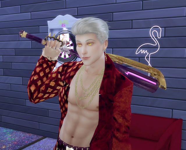 Ji-Woon Hak in the Sims 4