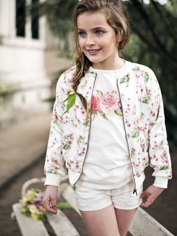 Moda primavera verano 2018 Anavana ropa para niñas.