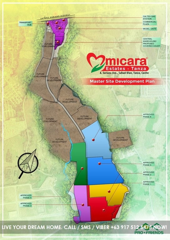 Site Development Plan - Micara Estates Tanza Cavite