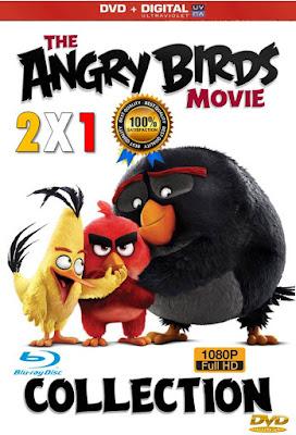 Combo The Angry Birds Movie 2X1 CUSTOM HD LATINO 5.1
