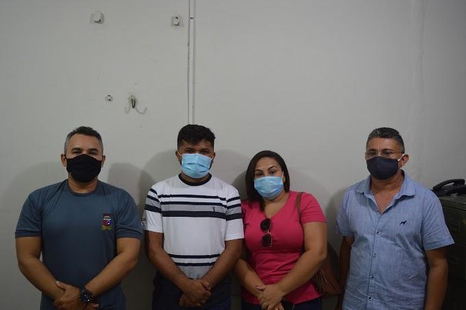 PM, Defesa Civil e Câmara discutem medidas para combater a perturbação do sossego alheio em Grossos
