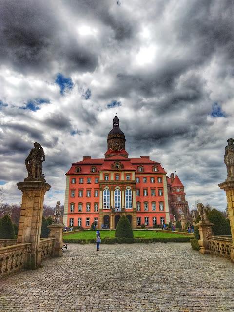 zamek Książ okolice Wałbrzycha i Wrocławia
