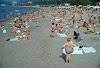 Сухумский пляж в 1983 году