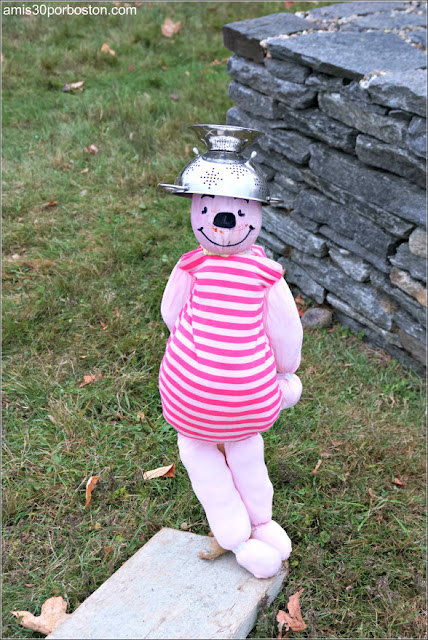 Pigglet en el Return of the Pumpkin People de Jackson en New Hampshire