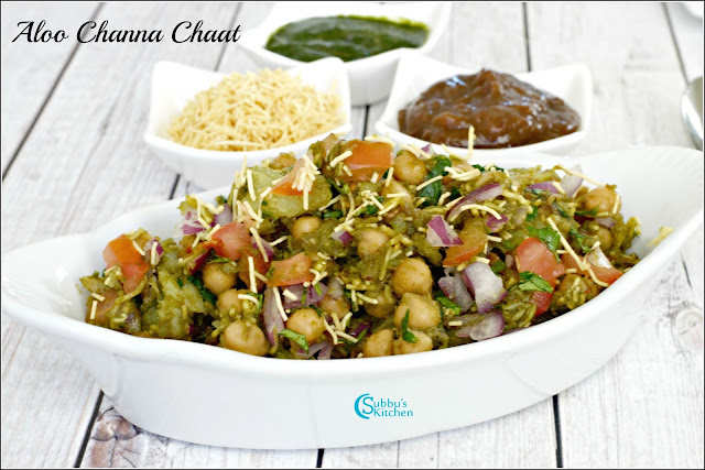 Aloo Channa Chaat Recipe