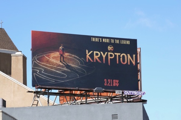 DC Krypton season 1 billboard