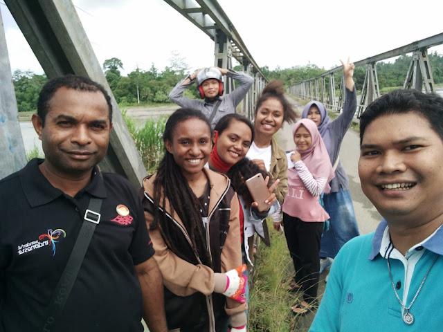 Mahasiswa Peduli Patiwisata dan Ketua DPD HPI PAPUA BARAT