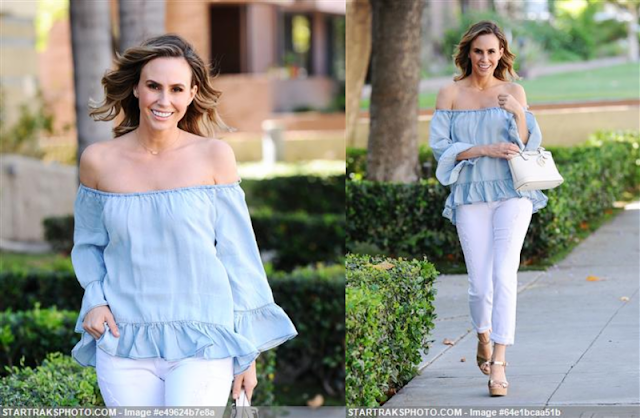 Keltie Knight Off Shoulder Top