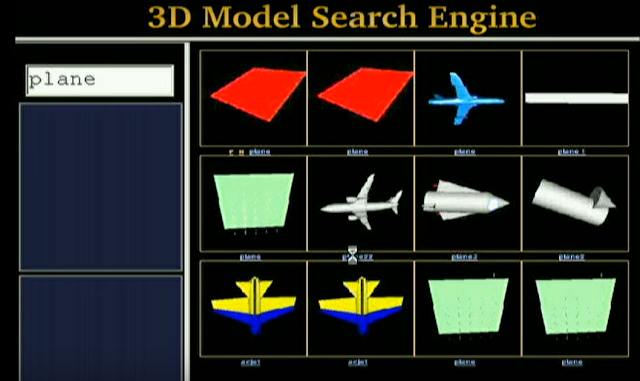 3D SEARCHING