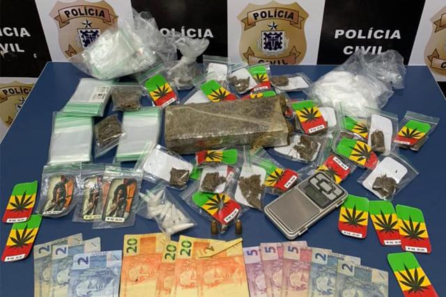 Adolescente é apreendido por tráfico de drogas e ameaça em Vitória da Conquista
