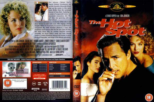 The Hot Spot 1990 movieloversreviews.filminspector.com DVD cover