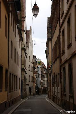 Una delle vie del centro di Strasburgo