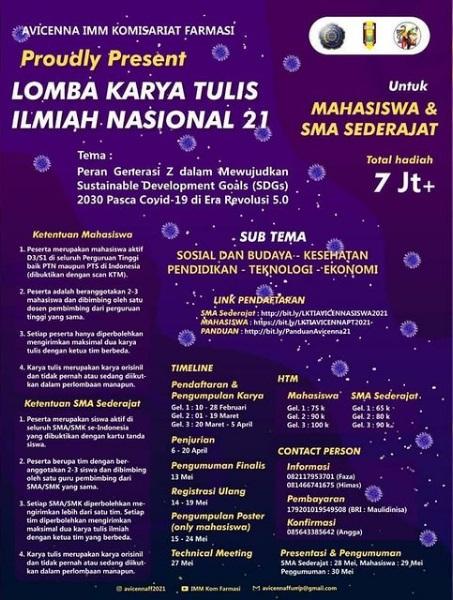 Lomba Karya Tulis Ilmiah Nasional (LKTIN) By Universitas Muhammadiyah Purwokerto