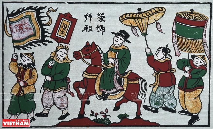 tranh gỗ dân gian Đông Hồ