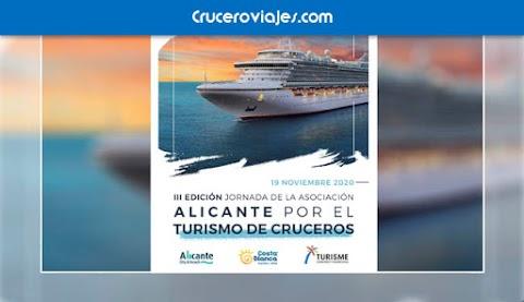Jueves, 19 de noviembre III Jornada Alicante por el Turismo de Cruceros