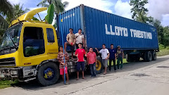 OUR CONTAINER ARRIVES AT LCC