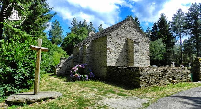 LABASTIDE-ESPARBAIRENQUE (11) - Église romane Saint-Sernin de Cubserviès