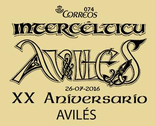 Matasellos del festival intercéltico de Avilés