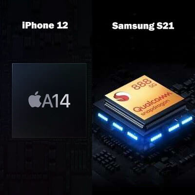 Samsung S21 vs Apple iPhone 12 comparison | Which is best Flagship Mobile